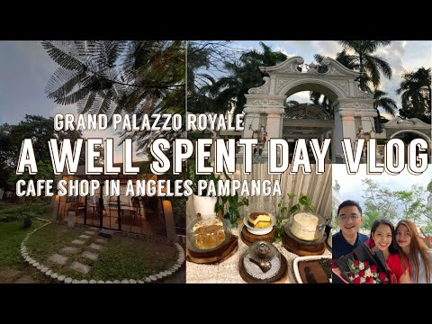 A WELL SPENT DAY VLOG | GRAND PALAZZO ROYALE + 1798 LIFESTYLE STUDIO | CAFE VLOG | MICHAEL EMATA