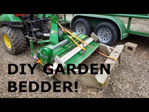 DIY Garden Bed Maker