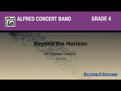 Beyond the Horizon by Rossano Galante - Score & Sound