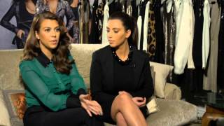 Kardashian Exclusive! Kim and Kourtney talk Kanye, fashion and sibling rivalry!