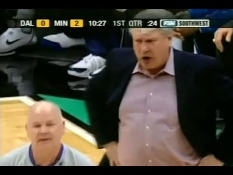 Joey Crawford ejects Don Nelson. Quickest ejection in the NBA?