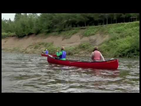 Canoeing in Kedgwick - New Brunswick, Canada