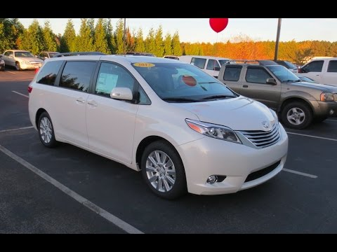 2017 Toyota Sienna Limited Premium Full Tour Start Up At Mey You