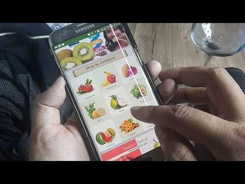 .網路食品購物提供商 BigBasket 合作 VR 公司 GMETR 推出 VR 購物應用