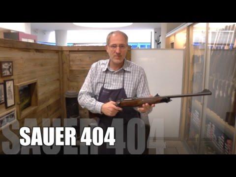 Unpacking a new Sauer 404 Rifle