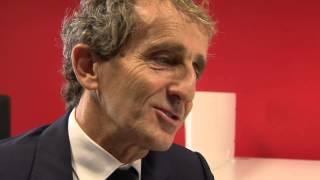 Reportage sur Alain Prost par l'Equipe 21