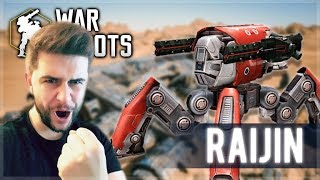 WE UNLOCKED A NEW ROBOT RAIJIN AND IT'S HUGE! DOMINATING FREE FOR ALL | War Robots