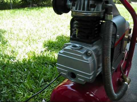 craftsman 3 gallon air compressor manual