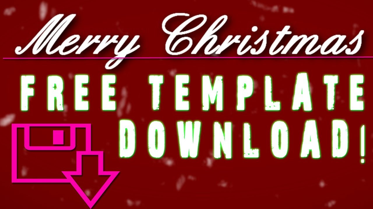 sony vegas pro 10 /11 / 12 free christmas template ! falling snow, Powerpoint templates