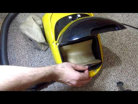 Vacuum Cleaner Bag Replacement (Clatronic)