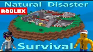 Roblox: Natural Disaster Survival W/Angel Toon
