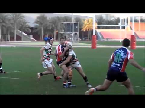 Highlights of Abu Dhabi Harlequins v Jebel Ali Dragons 5th Feb 2016