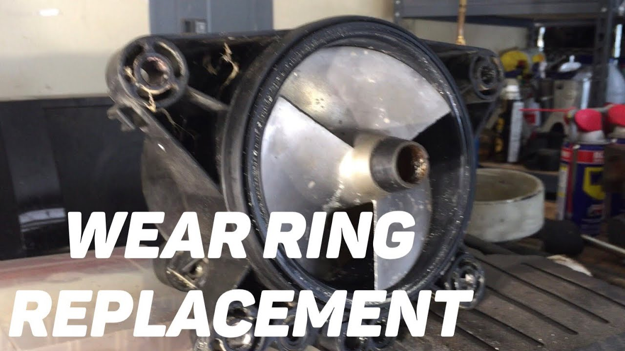 Seadoo Wear Ring Replacement Youtube