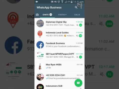 Facebook kirim pesan di WhatsApp