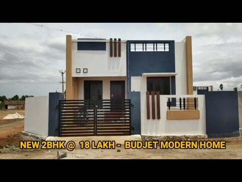 2BHK 🏠 House Sale 606sqft In Low Price 18 Lakh John Builders Tirunelveli
