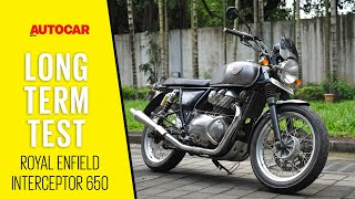 14,000km on a Royal Enfield Interceptor 650 - with Mods | Long Term Review | Autocar India