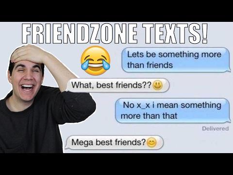 FUNNIEST FRIENDZONE TEXTS!