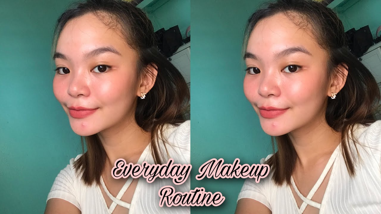 EVERYDAY MAKEUP ROUTINE | Jhimil Capulong