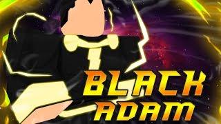 [CODE] Black Adam Is OP? | Super Hero Adventures Online | Roblox