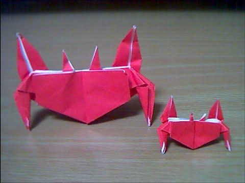 ハート 折り紙 かに 折り紙 : youtube.com