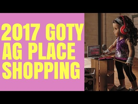 American Girl 2017 Girl of the Year - AG Place Tour - Gabriela McBride