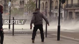 France: Water cannons, tear gas deployed as clashes continue over ZAD occupation