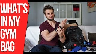 What's In My Gym Bag - Essential Bodybuilding And Strength Training Workout Gear(If you found this video helpful hit Subscribe to support the channel and share the video with your friends to spread the word◅ In this video you'll see what's in my ..., 2016-04-03T21:39:39.000Z)