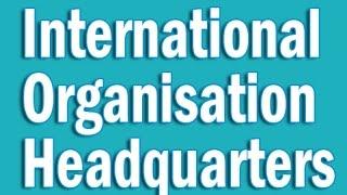 International Organisations Headquarters in Hindi | Static GK