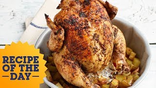 Recipe of the Day: Bundt Pan Roast Chicken | Food Network