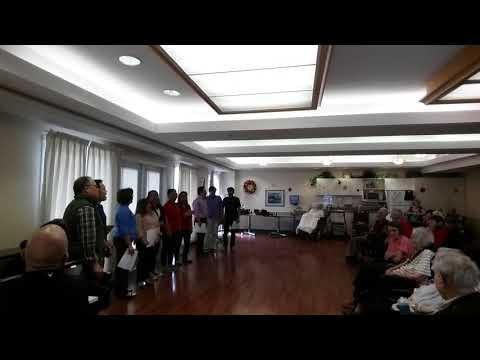 """An Outreach Program """"Serenade"""" @ Home for the Aged by YYC Filipino Chorale - Video 01"""