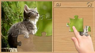 Animal Sounds - Jigsaw Puzzles for Kids (English) screenshot 2