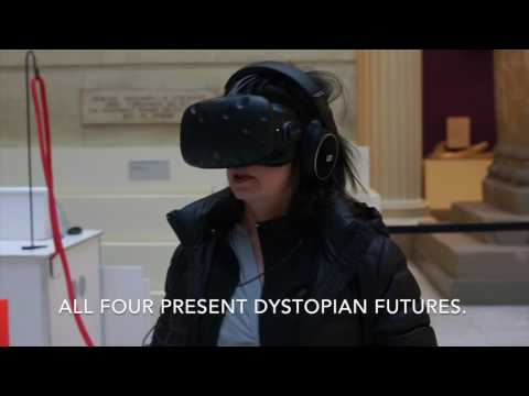 Virtual reality exhibit at Carnegie Museum of Art