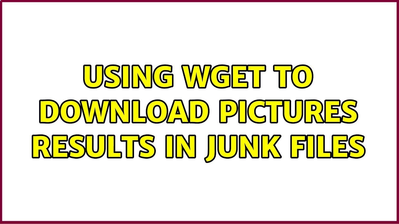 ubuntu download wget