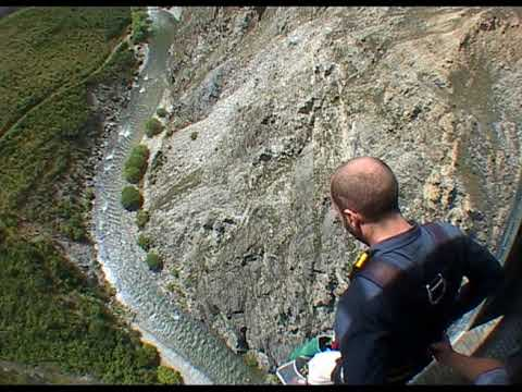 Highest Bungee Jump in Queenstown, New Zealand