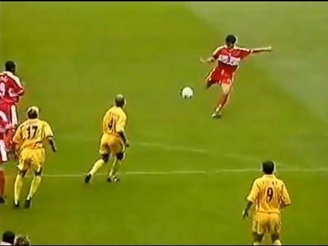 Middlesbrough v Leeds Utd 2000-01 LEE BOWYER STAMP GOAL
