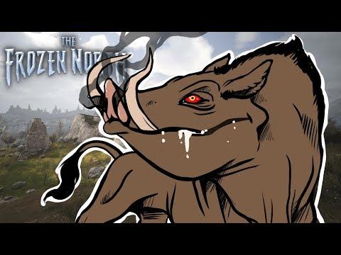 Conan Exiles  TELEPORTING DEMON BOAR ATTACKS US, SHELLFISH TRAP 2  The Frozen North DLC Gameplay