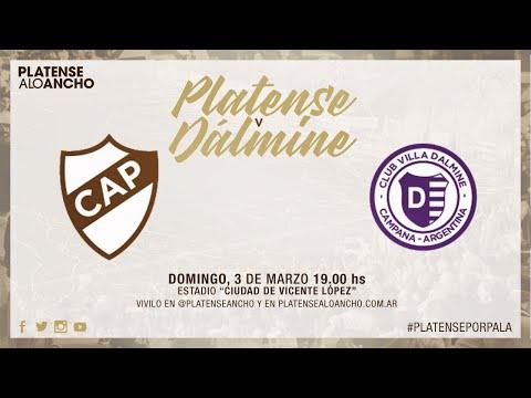 Platense vs. Villa Dálmine | TRANSMISIÓN EN VIVO | Fecha 18 | Campeonato 2018/2019