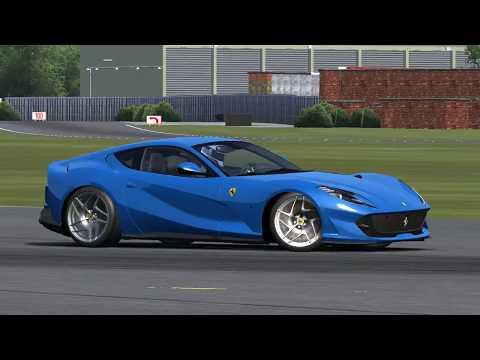 Assetto Corsa(PC)  Ferrari 812 Superfast Mod @ Top Gear Test Track+Download Link 