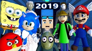 TOP 2019 MINECRAFT ANIMATION SERIES! THE MOVIE! (Official) Best Sonic, Baldi, Mario, Spongebob