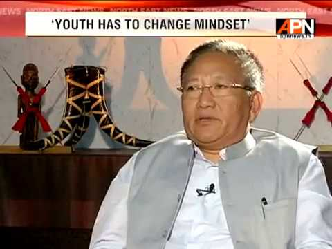 "APN Exclusive interview of Nagaland Chief Minister ""T.R.Zeliang"""