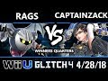 Glitch 4 - P1 | CaptainZack (Bayonetta) Vs. Rags (Metaknight) - Wii U Singles Winners Quarters