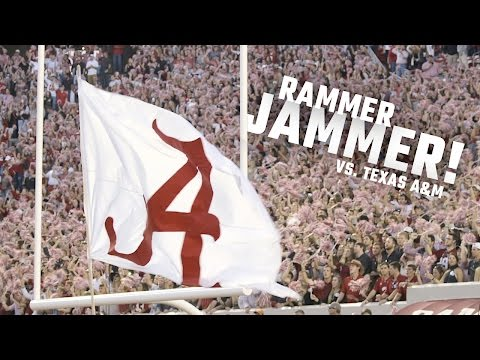 Watch BryantDenny erupt in the most passionate Rammer Jammer of the season