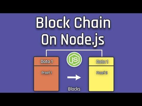Let's Create A BlockChain On Node.js