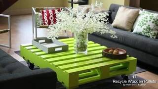 17 Creative Ways To Recycle Wooden Pallets