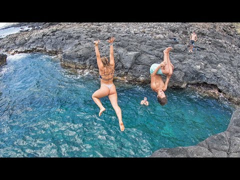 HAWAII: FINDING SECRET SPOTS!!