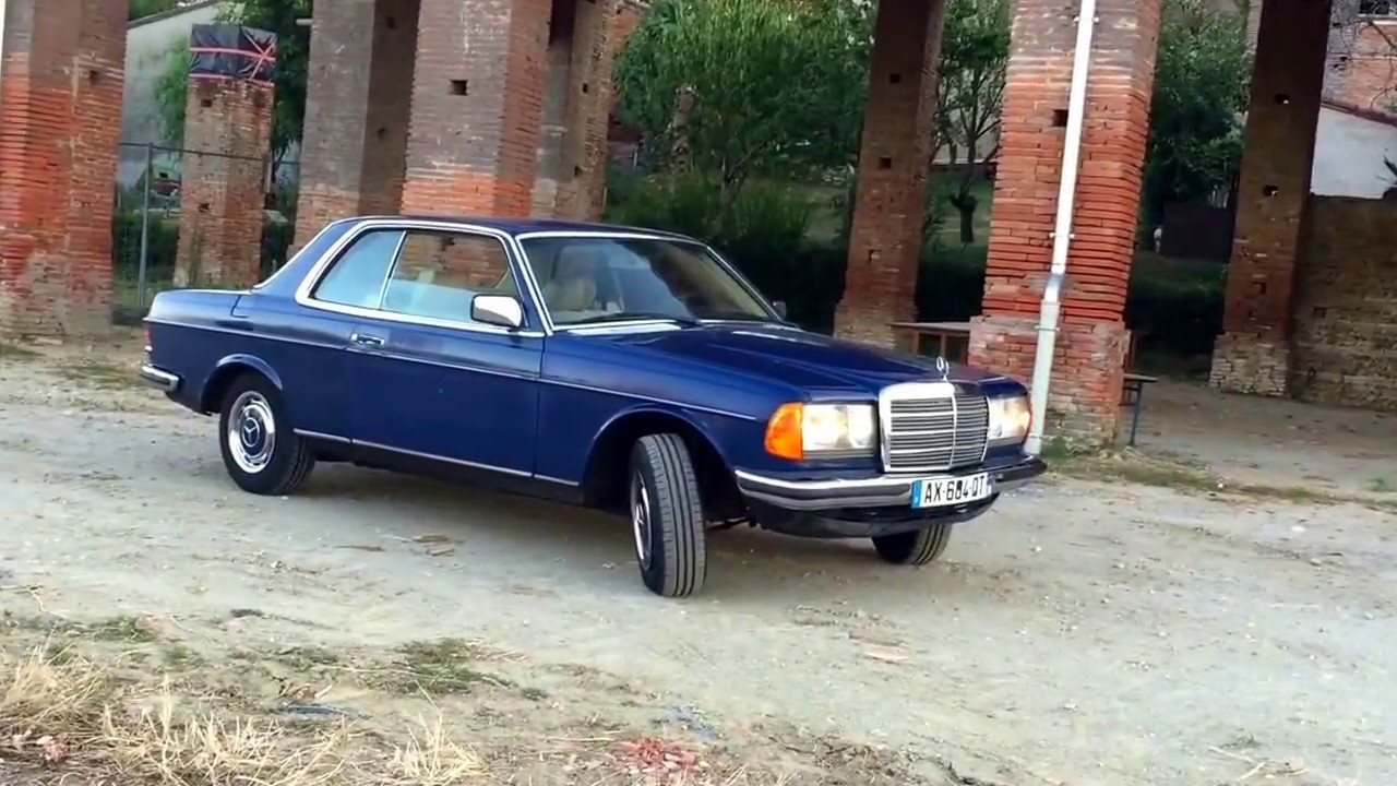 Mercedes 280ce W123 Coupe The Classic Way Of Life Youtube