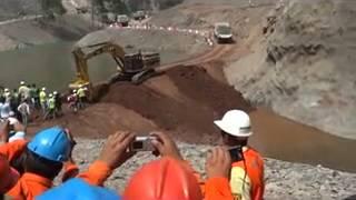 DESVIO DE RIO    PROYECTO CENTRAL HIDROELECTRICA CHAGLLA