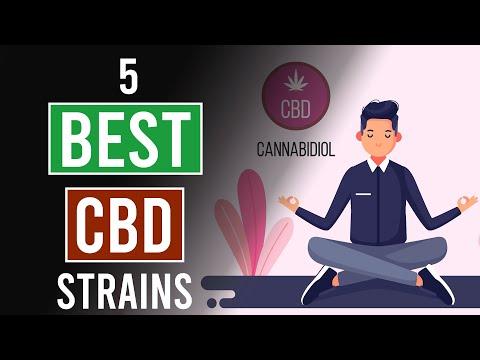 5 Best CBD Cannabis Strains!