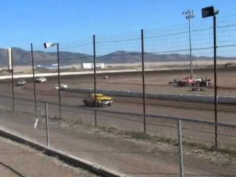 Mini Stock Heat 19 Oct 2013 - Prescott Valley Raceway