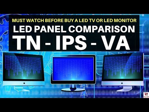 LED टीवी लेने से पहले जाने LED Panel Comparison | TN Vs VA Vs IPS | LED TV BUYING GUIDE | PLS AHVA